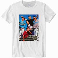 Backstreet Boys Gildan White T -shirt size S to 2XL