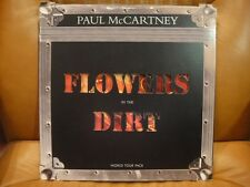 PAUL McCARTNEY - FLOWERS IN THE DIRT - UK - WORLD TOUR PACK - COMPLETE
