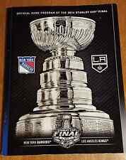 New York Rangers vs Los Angeles Kings 2014 Stanley Cup Final Program