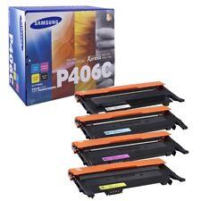 SET Samsung Genuine (CLT-P406C) CLT-K406+M406+C406+Y406 For CLP360 CLX3300