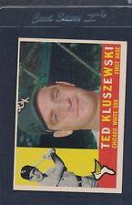 1960 Topps #505 Ted Kluszewski White Sox EX 60T505-11816-1