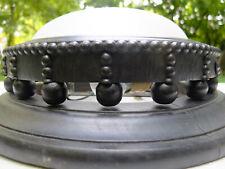Glasschirm Deckenlampe Gründerzeit 1880