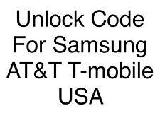 Unlock Code Samsung Galaxy S3 I747 G730 I827 I917 I677 I847 I997 Note I717 ATT