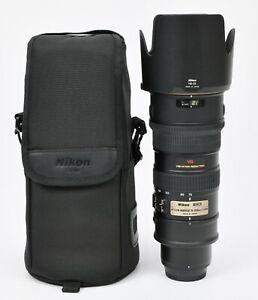 Nikon AF-S VR Zoom-NIKKOR 70-200mm f/2.8G IF-ED Lens