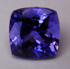 NATURAL TANZANITE 3.56ct!!  EXPERTLY FACETED IN GERMANY +CERTIFICATE INCLUDED