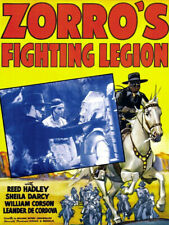 Zorro's Fighting Legion 1939 2 x dvd Republic Movie Serial Cliffhanger