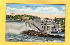 St Croix Falls Wisconsin WI Power House and Dam used 1939