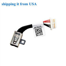 DC POWER JACK w/ CABLE Dell Inspiron Pf8jg 6VV22 CN-0JDX1R-GT074 SG1-0595-ADO