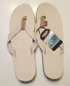 Rainbow Sandals 301ALTS XXXL 13.5-15 Flip Flop Leather Single Layer Sand New NWT