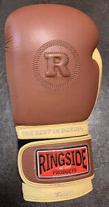 Ringside Boxing Heritage Sparring Glove Only Left Brown 14 oz Sz medium - HSG14