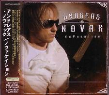 ANDREAS NOVAK Novacation + 1 JAPAN CD Mind's Eye House of Shakira