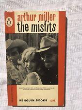 Penguin 1666 Arthur Miller The Misfits Cover Image M Monroe Montgomery Clift