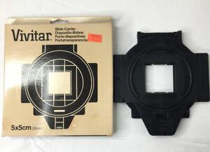 VIVITAR 5x5cm (35mm) ENLARGER SLIDE CARRIER #0730521