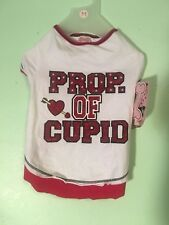 """New listing Wag-A-Tube Valentine """"Prop. Of Cupid"""" T-Shirt M Nwt"""