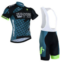 New Short Men's Cycling Clothing Kits Jersey Bib Shorts Set Shirt Maillots Pants