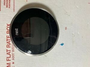 Nest Learning Thermostat 2nd Generation 02A Silver No Base and Accessories