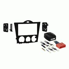 METRA 95-7510 MAZDA RX8 2004 2005 2006 2007 2008 Double Din Install Dash Kit