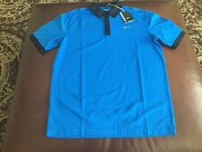 Nike Golf Tour Performance men dri-fit blue  polo shirt,size M, NWT