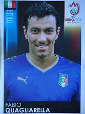 Panini 300 Fabio Quagliarella Italien UEFA Euro 2008 Austria - Switzerland