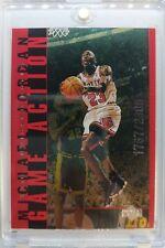 1998 98 Upper Deck Michael Jordan Living Legend Game Action RED #G9, #'d /2300