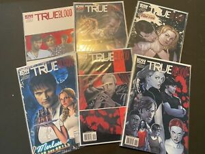 True Blood Comic Vol 1 All Together Now Issues #1-6 Lot