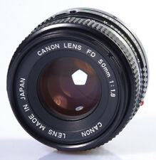 OBJECTIF CANON FD 1,8/50mm CANON AE-1 CANON A1 CANON FTb....