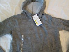 NEW Womens UNDER ARMOUR COLDGEAR CHARGED COTTON STORM Hoodie Gray SM FREE SHIP