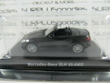 KYOSHO 1:64 Scale Minicar Collection Black MERCEDES-BENZ SLK 55 AMG +Plastic Box