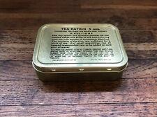 WW2 WW11 Army Tea Ration Tin. Compo Ration