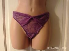 PURPLE KNICKERS BY MARKS AND SPENCER, SIZE 14