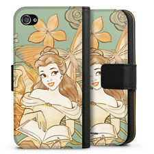 Apple iPhone 4 Tasche Hülle Flip Case - Belle royal floral