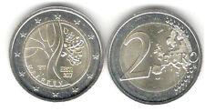 Estonia 2 euro conmemorativa 2017 camino a la independencia
