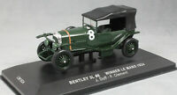 IXO Bentley Sport 3 Litre Le Mans winner 1924 Duff & Clement LM1924 1/43