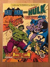 Batman contre Hulk - Sagédition - 1982 - NEUF