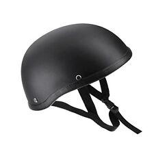 Moto Casco Medio Abierto Cara kkmoon Negro Mate Casco De Concha De Protección Para S