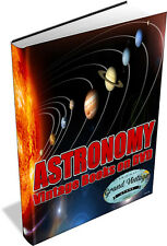 ASTRONOMY ~ Vintage Books on DVD ~ Cosmology, Telescope, Astrophysics, Planets
