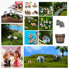 45Styles Garden Ornament Miniature Figurine Resin Craft Fairy Dollhouse Decor YZ