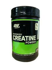 Optimum Nutrition Micronized CREATINE POWDER Unflavored 1200 g, 228 Servings