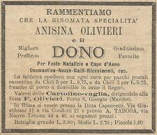 W6446 Anisina Olivieri - Pubblicità 1893 - Advertising