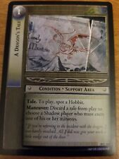 Lord of the Rings TCG Treachery and Deceit 18C106 A Dragon`s Tale LOTR CCG