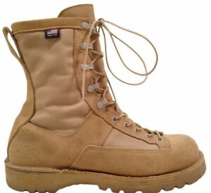 """Danner 26024 Desert Acadia 8"""" Insulated 400G GTX Boots Size 10 EE Wide Tan USA"""