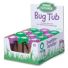 Magnifying Bug Tub With Clip - 12962 Clear Tub Bugs Insects Catch And View Toy