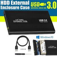 """SATA 2,5"""" BOX USB 3.0 PER HARD DISK CASE HD DRIVE ESTERNO HDD DISCO PORTATILE PC"""