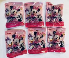 Disney Junior Minnie Mouse Collectible Mini Figures Set of 6 Complete Set New
