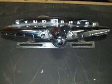 Studebaker Trunk Ornament Deck Lid Handle Trim License Light And Plate Bracket