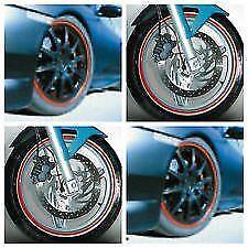Foliatec 6 mm Rueda Llanta Cinta Rojo Raya + Aplicador Para Moto (387)