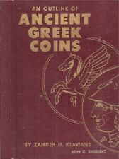1959 ANCIENT GREEK COINS NUMISMATICS ILLUSTRATED FIRST EDITION GREECE CURRENCY