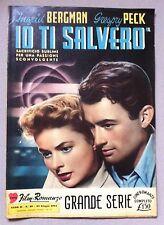 I VOSTRI FILM ROMANZO IO TI SALVERO' CON I. BERGMAN, GREGORY PECK 1955