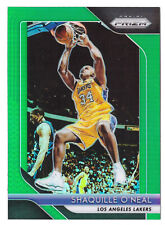 2019 Panini Prizm Green Refractor #35 Shaquille O'Neal Basketball Card F11