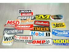 Lot NASCAR Vintage Contingency Stickers RaceCar IMCA Moroso Chevy 350 Late Model